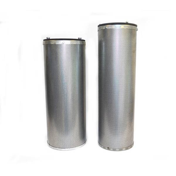 Aktivkohlefilterpatrone Set mit und ohne Aufnahmerahmen DN 145x450 oder 160x400