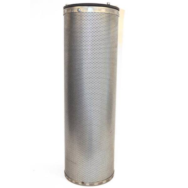 Activated carbon filter cartridge set with and without mounting frame DN 145x450 or 160x400