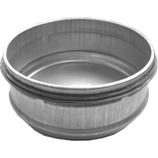 Enddeckel mit Lippendichtung NW80 - 400 mm Wickelfalzrohr