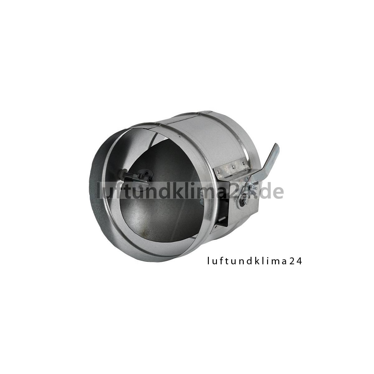 Drosselklappe Lüftung NW 300 mm Wickelfalzrohr
