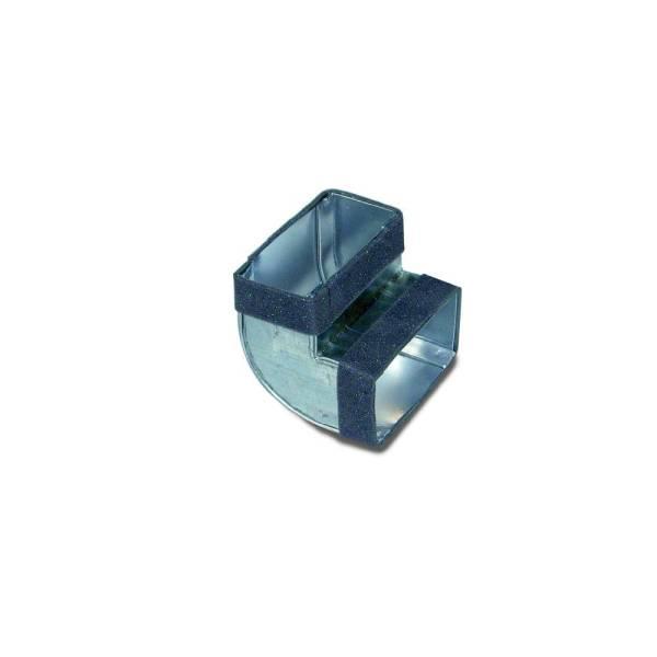 Flachkanal Bogen senkrecht 90° 100-300mm Lüftungssysteme Wohnraumlüftung Flachkanäle