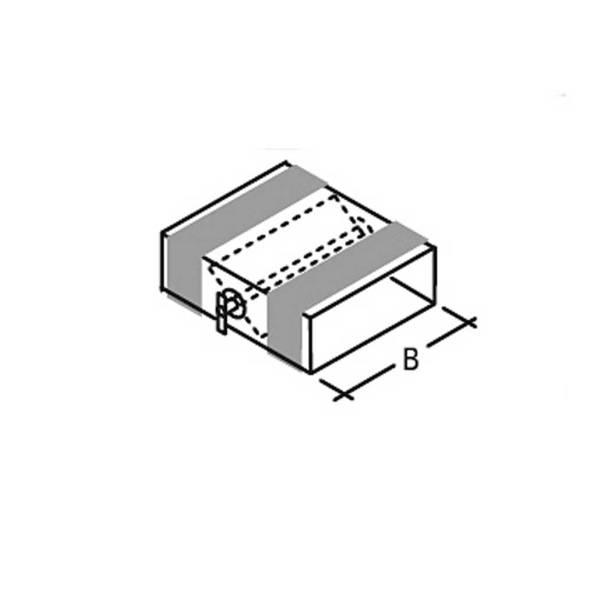 Flachkanal Drosselklappe 140-220 mm ohne Stellantrieb Wohnraumlüftung Flachkanäle