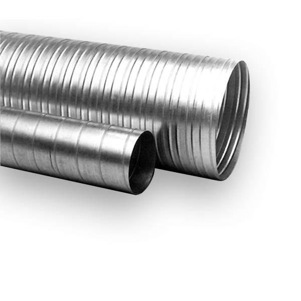 Wickelfalzrohr Lüftungsrohr DN 80-355 mm 1,5 m Länge
