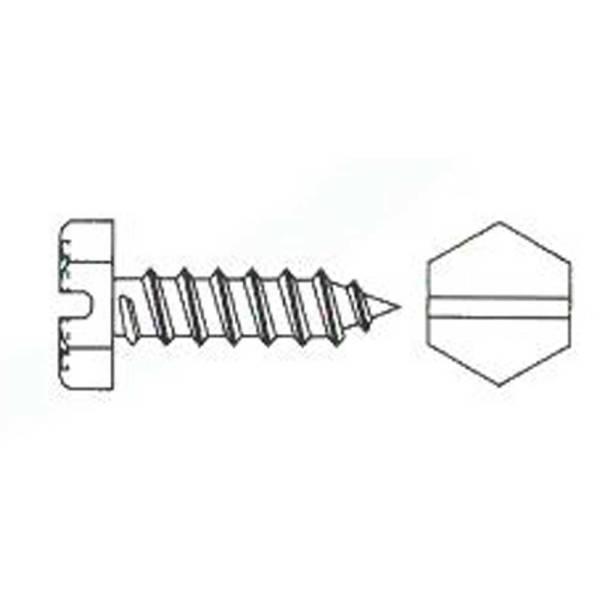 DIN7976 Blechschraube A2 Edelstahl 1000 Stück o.verzinkt verschiedene Größen