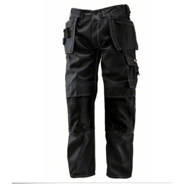 BOSCH WORKWEAR Arbeitshose Arbeitskleidung Bundhose WHT09 Schwarz Gr. 46 - 58