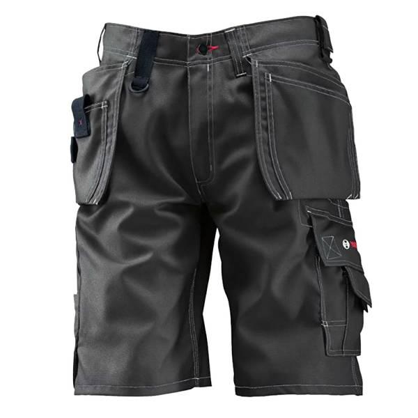 BOSCH WORKWEAR Arbeitshose Arbeitskleidung kurze Arbeitshose Shorts WHSO18 Berufskleidung Grau Gr. 46 , 50