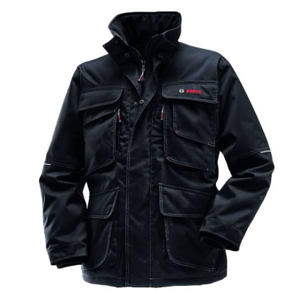 Bosch Workwear WPJ09 Parka Schwarz S Arbeitsjacke
