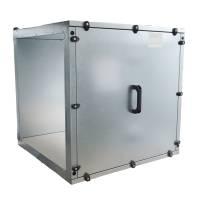 Abluftbox 650 , zwei Seiten offen