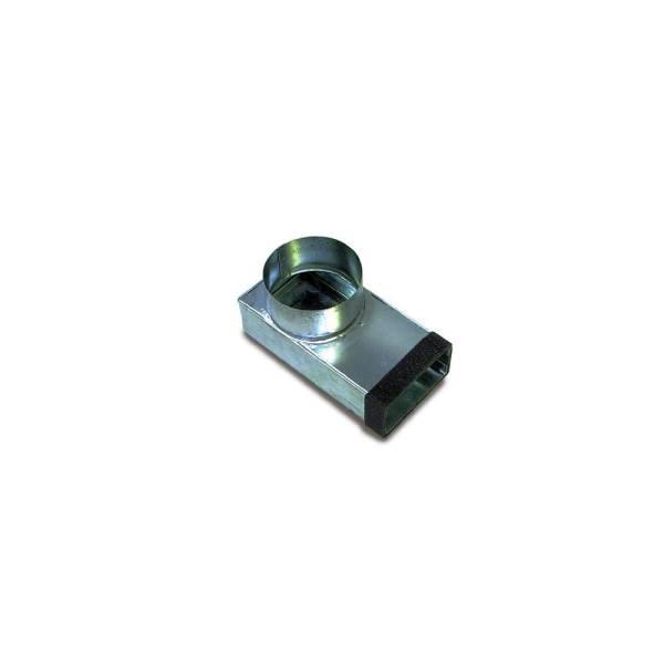 Flachkanal asymmetrischer Übergang NW140x220mm Wohnraumlüftung Flachkanäle