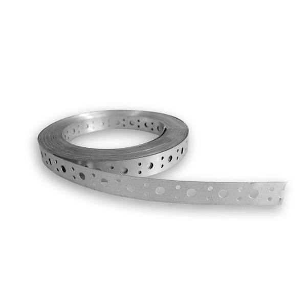 Lochband verzinkt 25 m x 25 mm